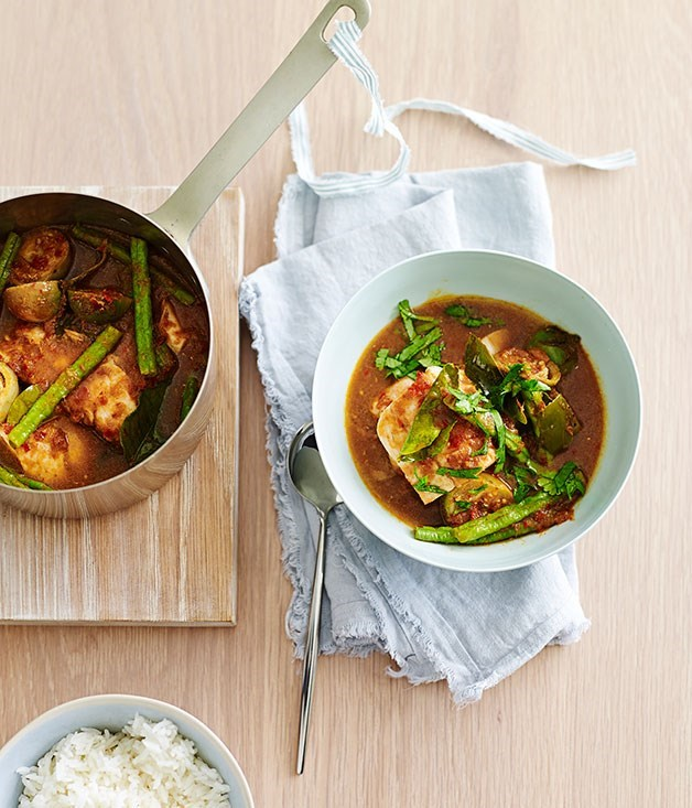 **Hot and Sour Fish Curry**