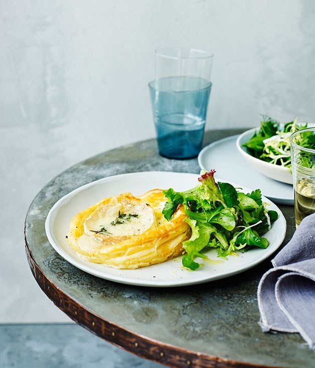 **Leek and Goat's Curd Tart**