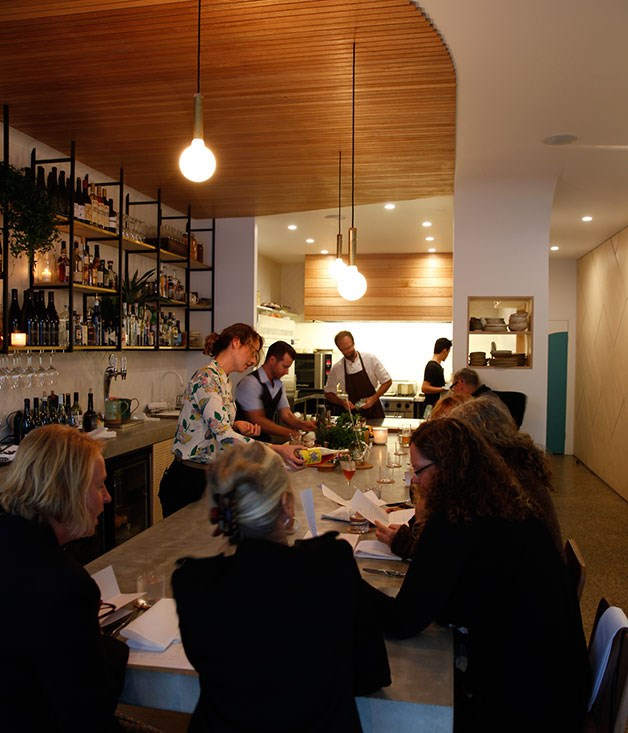 "**Regional Restaurant of the Year nominee** **[Fleet, Brunswick Heads](/{localLink:34106} ""Fleet, Brunswick Heads"")**   Opening a 15-seat restaurant specialising in the far-off-the-beaten-track likes of sweetbread schnitzel sandwiches, grilled cos with black vinegar and white pepper, and artisan-made wines is a bold move anywhere. Opening it, well, far off the beaten track seems like a leap of culinary faith. Whatever the thinking in choosing the small New South Wales coastal town of Brunswick Heads for Fleet, former Loam talents Astrid McCormack and Josh Lewis have created something compelling.      **IN SHORT** Sun, surf, sweetbreads and syrah."