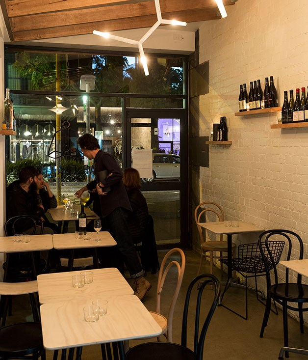"**Bar of the Year nominee** **[Bar Clarine, Melbourne](/{localLink:33836} ""Bar Clarine, Melbourne"")**   The folks behind fried-chicken joint [Belle's Hot Chicken](/{localLink:29733} ""Belle's Hot Chicken: Nashville-style fried chicken comes to Melbourne"") have honed their admiration for natural wine at this chic, compact, self-contained wine bar sitting right next door to the rollicking mothership. A constantly changing, page-long wine list is cleverly put together to challenge any notion that all natural wines are created equal, plumbing the spectrum from the super-funky to the super-refined. Add a kitchen pumping out small, interesting wine-friendly dishes - a textbook tête de porc, wild mushrooms with grits and eggs, mignonette with malted onion and Beaufort cheese - and you have a place that's both specialised and special.      **IN SHORT** Good times, naturally."