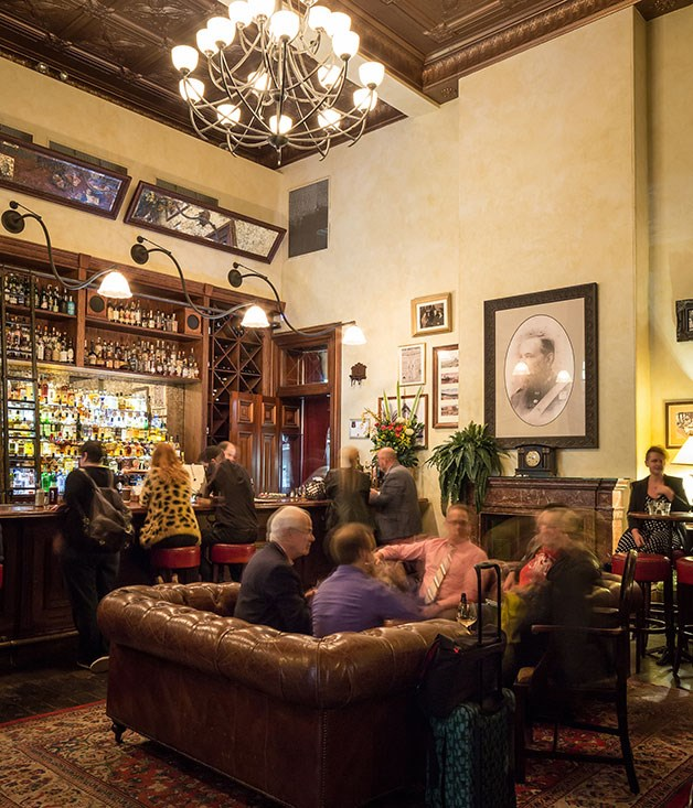 **Bar of the Year nominee** **The Gresham, Brisbane**   This handsome city-centre bar in the historic 19th-century Queensland National Bank building feels like it has graced Queen Street forever. It's the only bar in Queensland operating under a heritage licence - which handily allows it to stay open until 3am. Though the drapes are grand, there's nothing too forced here. The bartending is as relaxed as the cocktails are tight, while the back-bar's current whisky bent (head bartender Ryan Lane will happily tailor you a flight taking you pretty much anywhere you like) has evolved through demand rather design.      **IN SHORT** A bar to lift your spirits.
