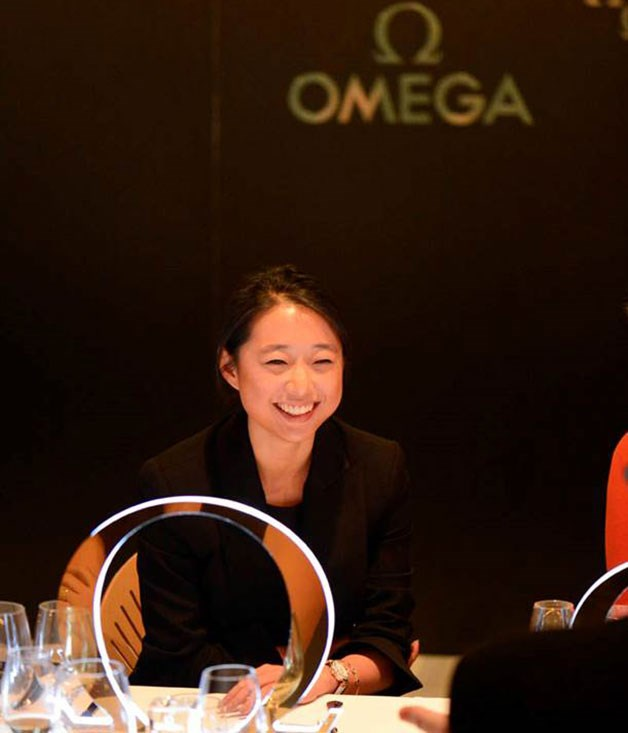 Margaret Zhang, Omega 2015 Collection launch