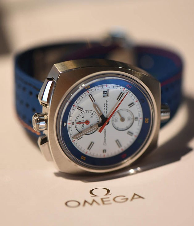 **** The Omega Seamaster Bullhead Rio 2016. As the name suggests, this sporty piece has been produced in time for the 2016 Olympic Games in Rio.