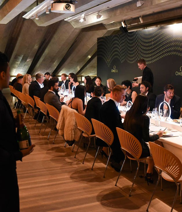 **** The Utzon room at the Sydney Opera House was a dramatic backdrop for the Omega 2015 Collection launch.