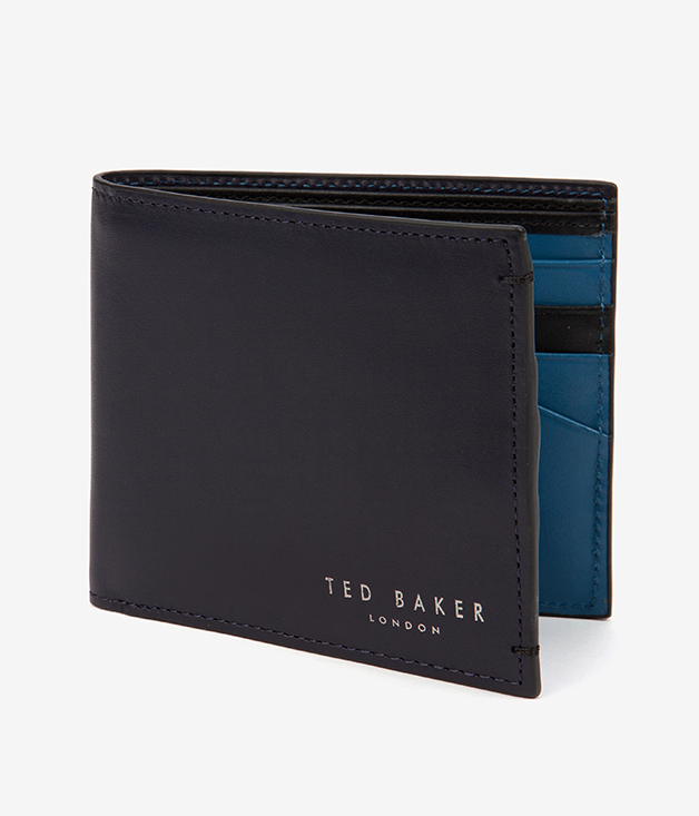 **TED BAKER HOODSON WALLET** Dad will feel a million bucks with this handsome [Ted Baker](http://www.tedbaker.com/au) leather bi-fold wallet tucked in his back pocket. $119