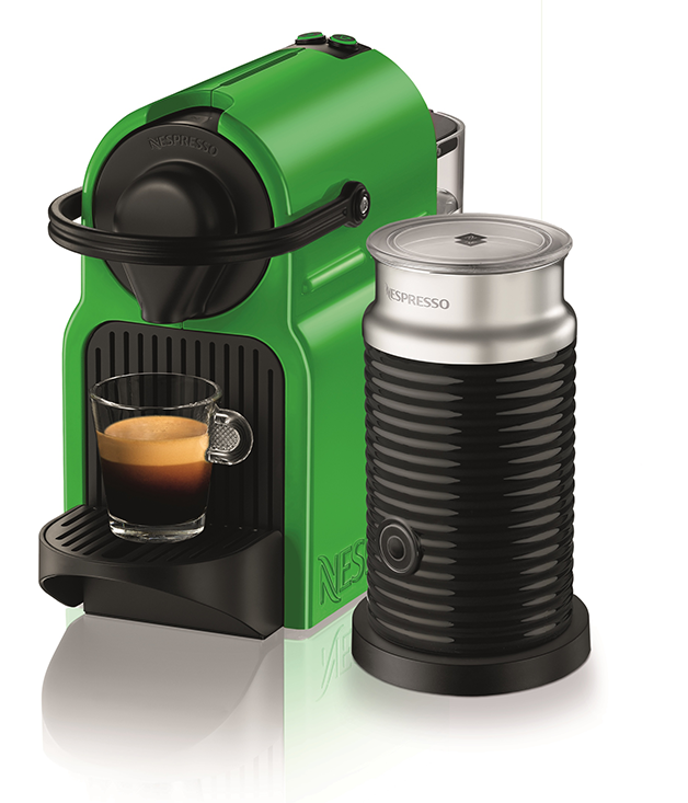 **NESPRESSO INISSIA** Add some colour to his morning cuppa with [Nespresso's](http://www.breville.com.au/beverages/nespresso-machines.html) limited-edition Inissia in an eye-catching tropical green. It's bound to invigorate his senses. $249