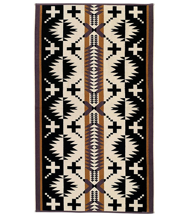 **PENDLETON SPIDER ROCK TOWEL X** Welcome the warmer weather with a splash. This super-sized [Pendleton](http://www.thirddrawerdown.com/) towel is an essential for every beach-loving Dad. $90