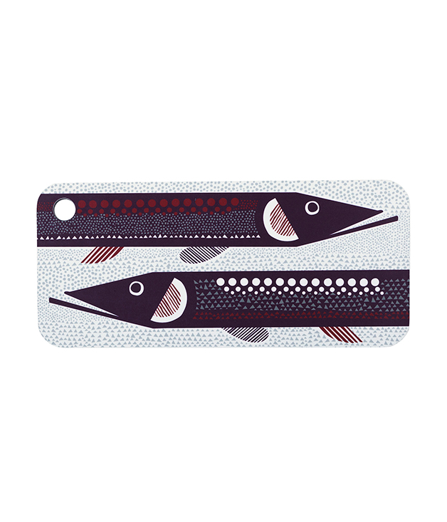 **MARIMEKKO HAUKI CUTTING BOARD** For the dad who can walk the talk in the kitchen, [Marimekko's Hauki](http://www.marimekko.com) cutting board will help him hone his knife skills from a julienne to a brunoise and every cut in between. $65