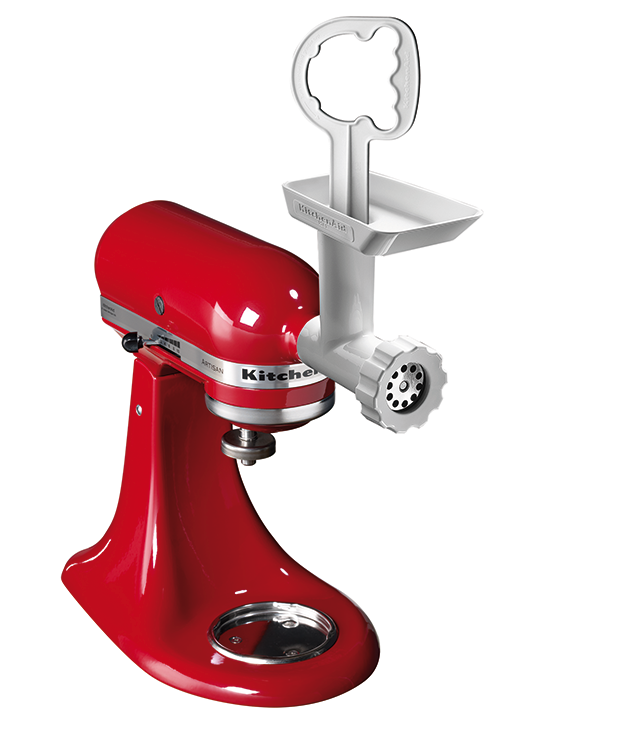**KITCHENAID FOOD GRINDER & MINCER** Forget the pre-packaged supermarket aisle and kick off the backyard burger series from scratch with the help of this [KitchenAid](http://www.kitchenaid.com.au/) attachment for mincing and grinding. $99.95