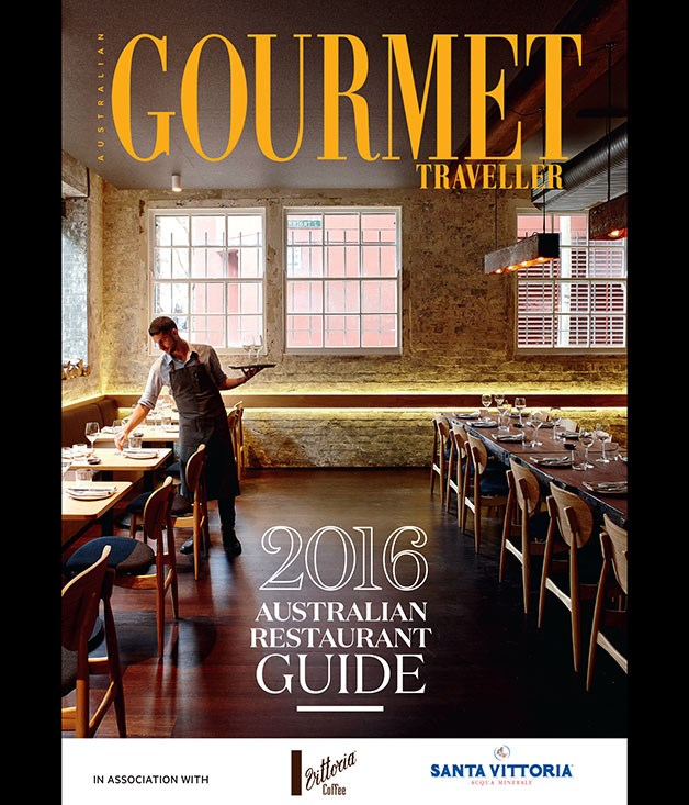 2016 Gourmet Traveller Restaurant Guide