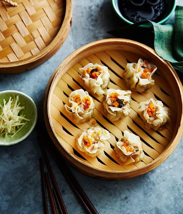 "[Siu mai](https://www.gourmettraveller.com.au/recipes/browse-all/siu-mai-13998|target=""_blank"")"