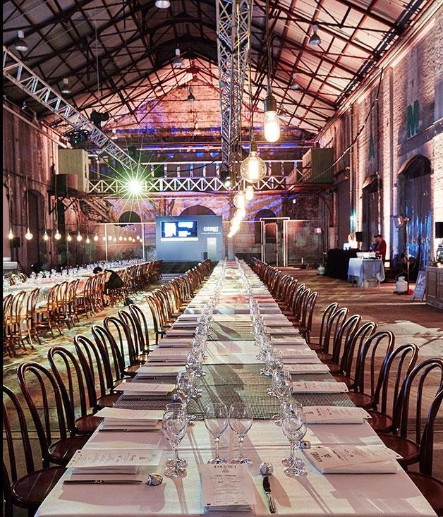 **** The room at Carriageworks, Sydney.