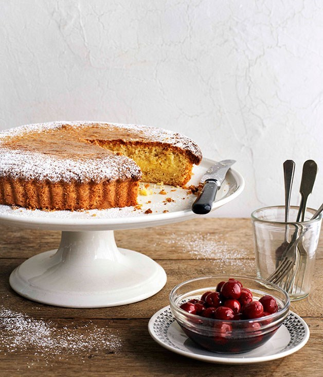"[Gâteau Basque](https://www.gourmettraveller.com.au/recipes/browse-all/gateau-basque-11347|target=""_blank"")"