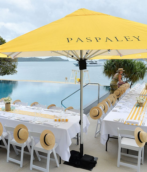**** The tables are set for Paspaley's Nautique lunch at Qualia.