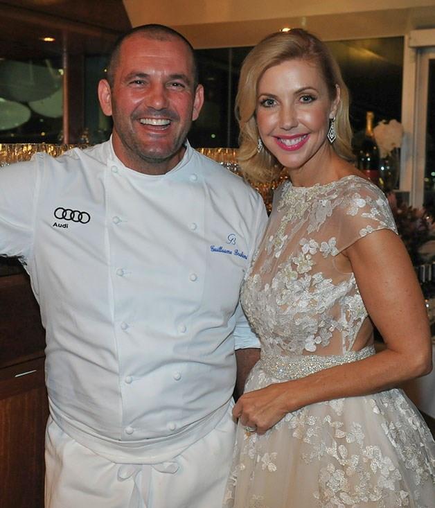**** Guillaume Brahimi and Catriona Rowntree at the Hamilton Island Yacht Club.