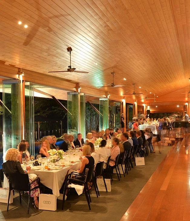 **** The Guillaume Brahimi dinner at Qualia's Long Pavilion.