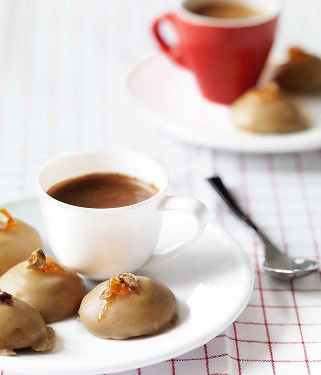 Espresso glazed biscotti