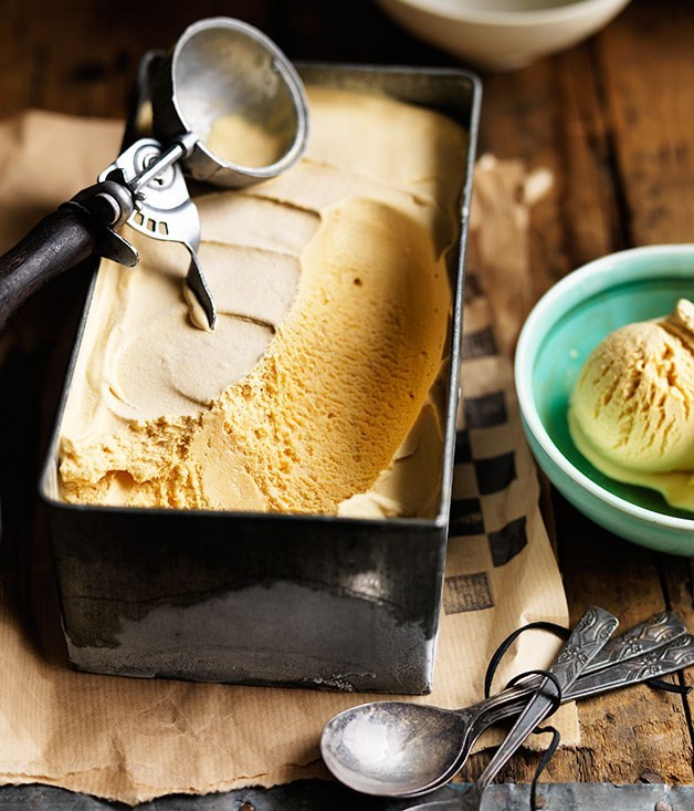 **Caramel ice-cream**