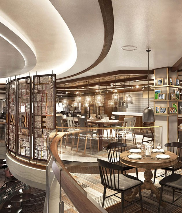 Star chefs team up with luxury cruise lines