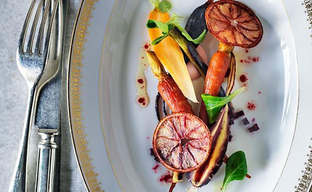 Carrot-beetroot salad