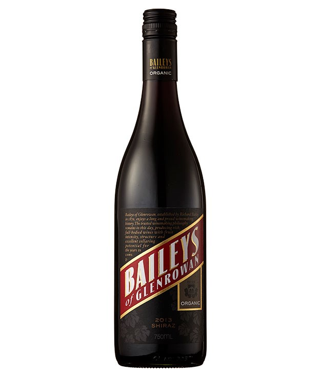 """**2013 Baileys Organic Shiraz** The 143-hectare Baileys vineyard in north-east Victoria is now certified organic: farmed again, in many ways, as it was a century ago. This terrific shiraz is a relatively restrained, spicy expression of the traditional gutsy Baileys style. Glenrowan, Vic, $28, [baileysofglenrowan.com.au](http://www.baileysofglenrowan.com.au """"Bailey's"""")"""