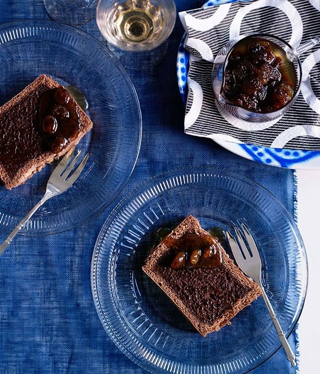 """[**Chocolate marquise**](https://www.gourmettraveller.com.au/recipes/browse-all/chocolate-marquise-10084 target=""""_blank"""")"""