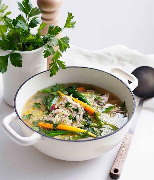 **Spring chicken soup**