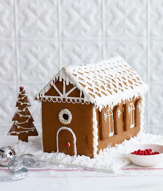 """[**Gingerbread house**](https://www.gourmettraveller.com.au/recipes/browse-all/gingerbread-house-13914 target=""""_blank"""")"""