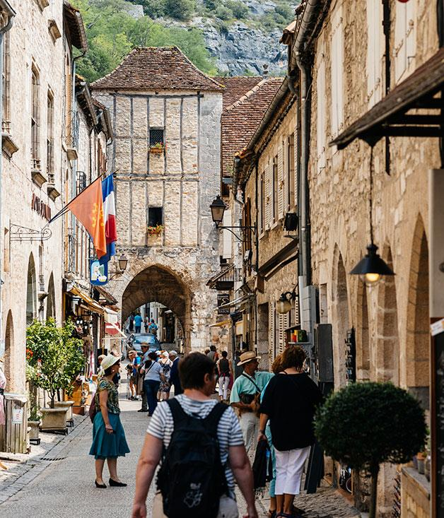 **** Rocamadour, famous for its Black Madonna