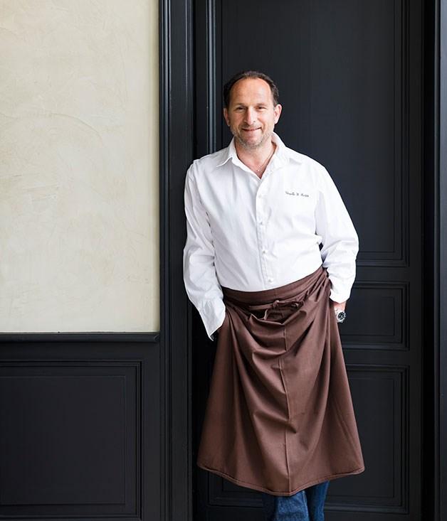 **** Gilles Dudognon, chef and owner of La Chapelle Saint-Martin