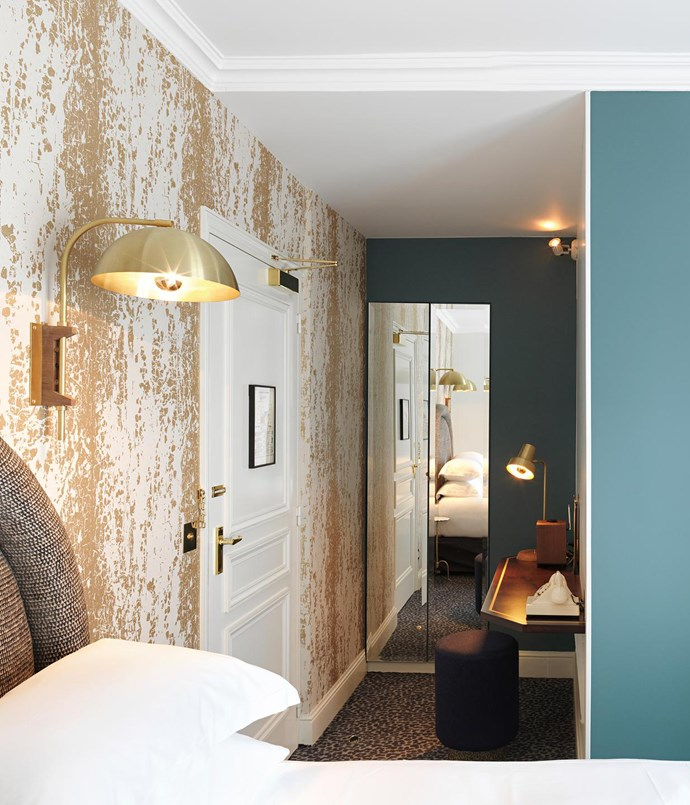 **Grand Pigalle Hotel** The hotel's 37 rooms are flooded with light, their well-designed bathrooms stocked with products by Buly, one of the coolest new beauty houses in Paris.