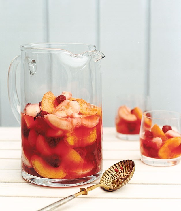 "[**Picnic fruit salad**](https://www.gourmettraveller.com.au/recipes/fast-recipes/picnic-fruit-salad-9377|target=""_blank"") <br> This brings new meaning to the term 'fruit juice'."