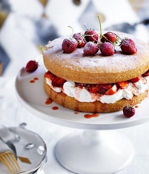 Ounce Victoria Sponge Cake