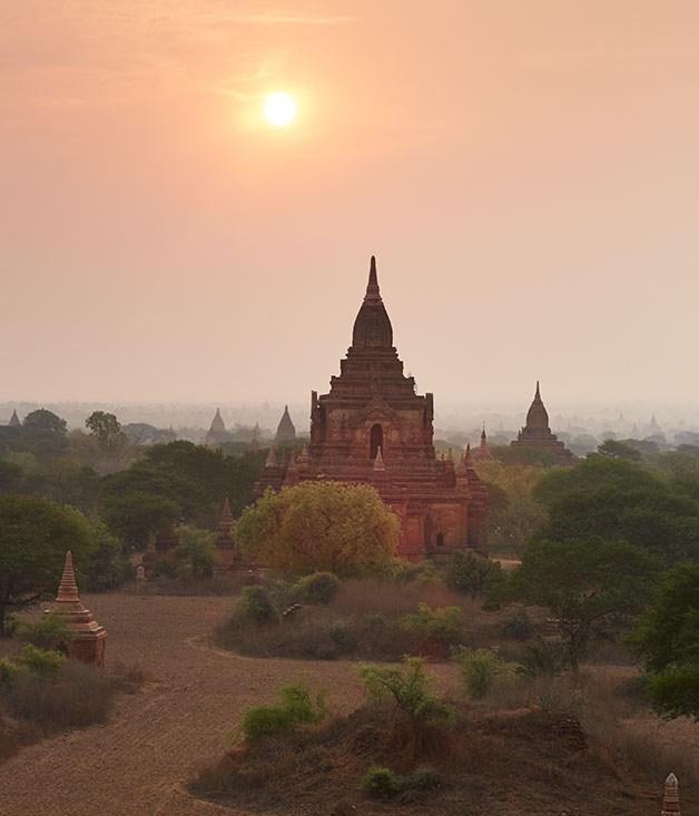 Bagan archaeological site, Myanmar