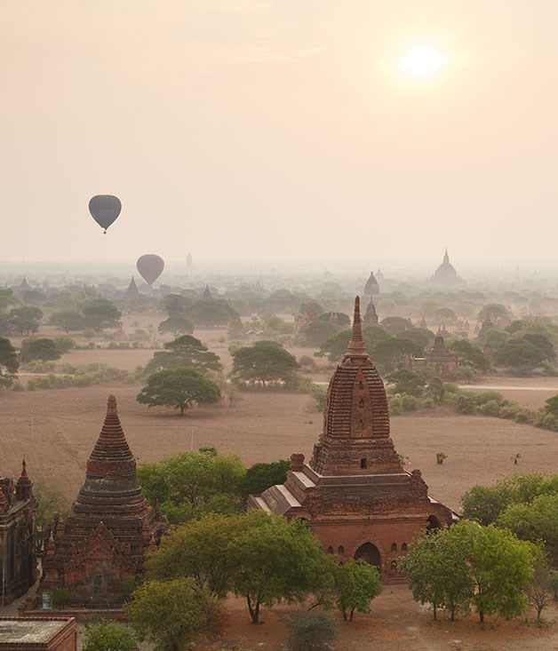 **** Pagodas at the Bagan archaeological site