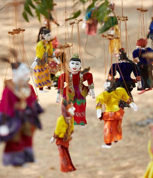 **** Burmese puppets