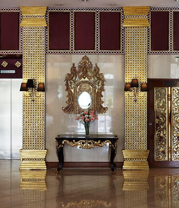**** The lobby at Mandalay Hill Resort