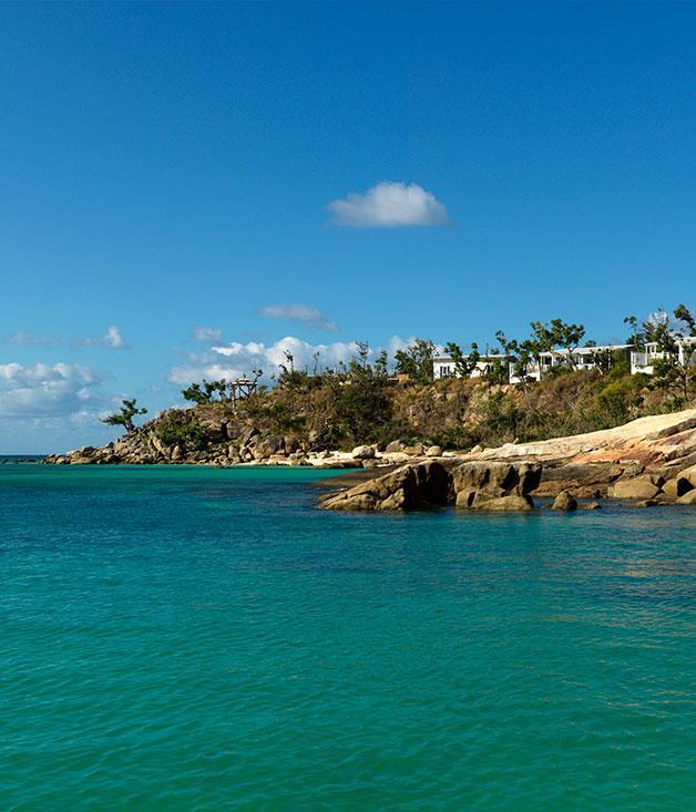 **** Suites at Lizard Island Resort overlook the Coral Sea