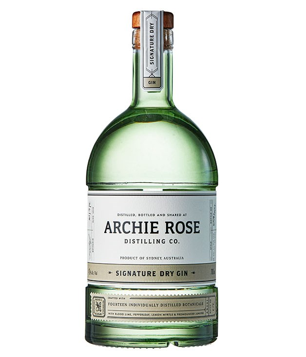 "**Archie Rose Signature Dry Gin, Sydney, NSW** This lovely new gin, in its beautiful bespoke bottle, comes from an ambitious urban distillery and bar in Sydney's Rosebery. Classical in style, with an aromatic emphasis on juniper and citrus botanicals, it makes a terrific G&T. $74, [archierose.com.au](http://www.archierose.com.au ""Archie Rose"")"