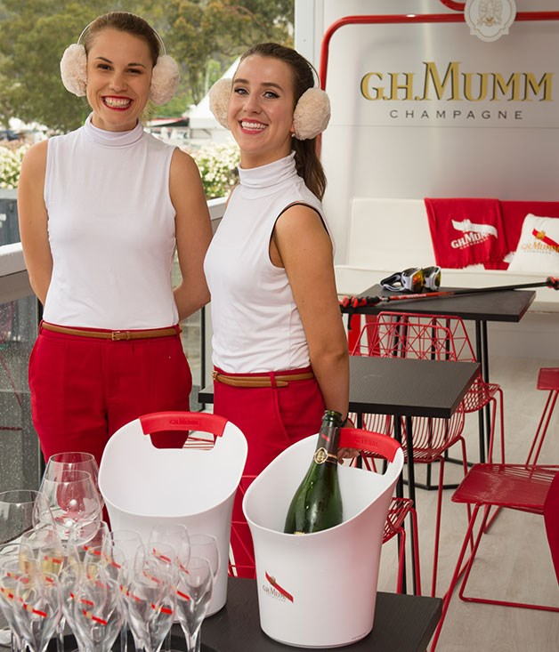 **** G.H. Mumm takes inspiration from the luxurious chalets in the French Alps.   Photo credit: SDP Media.
