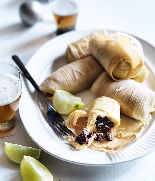 **Ham tamales**