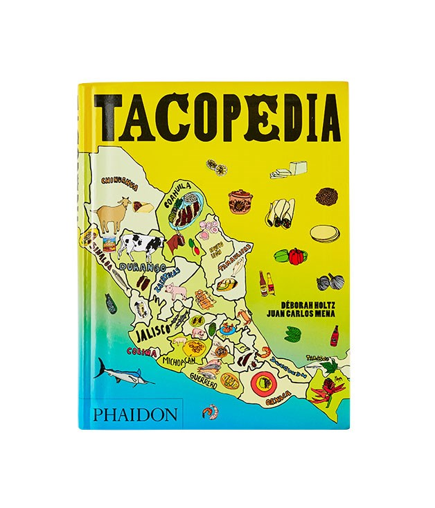 **Tacopedia, Déborah Holtz & Juan Carlos Mena** Yes, everything seems to be coming up Mexican this year. But a dip into this detailed examination of the humble taco might also shed some light on why. This single dish shows the stunning diversity and complexity of Mexican cuisine, wrapped here in tasty bite-sized packages, sparkling with colourful graphics and seasoned with plenty of humour. Must cook: cochinita pibil. (Phaidon, $39.95)