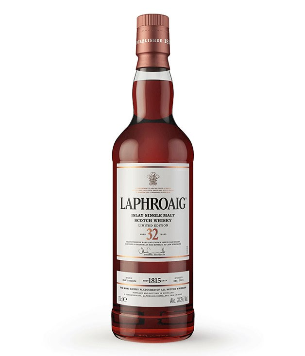 "**Laphroaig 32-Year-Old Release Whisky** For the peat-loving traditionalist, meanwhile, a rare 32-year-old release from this much-loved Islay distillery is a worthy investment. _$1500, [danmurphys.com.au](https://www.danmurphys.com.au ""Dan Murphy's"")_"