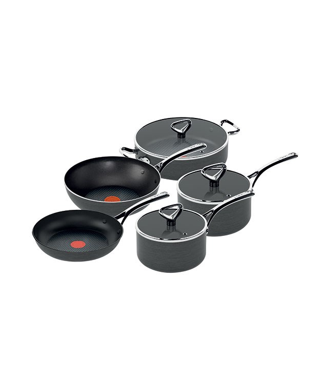 "**Tefal Cookware Reserve Range** Here's a set that can take the heat. Tefal's five-piece reserve range can withstand temperatures up to 260 degrees and each piece comes equipped with a thermo-spot to identify when the pan is hot and ready to go. _$699.95, [tefal.com.au](http://www.tefal.com.au/ ""Tefal"")_"