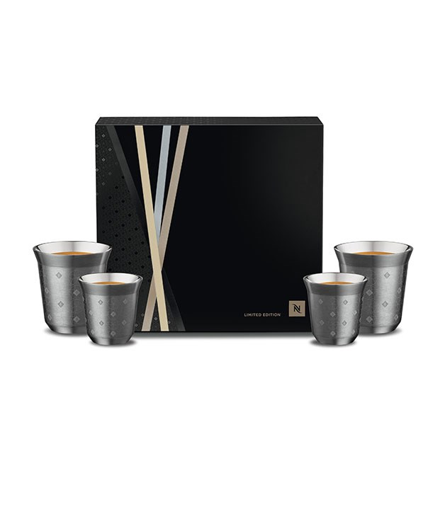 "**Nespresso Pixie Cups** Meet the grand crus of coffee cups. Nespresso's new stainless steel pixie cups are designed to fit your coffee order - espresso or lungo. And like the grand cru capsules, they come in an array of eye-catching metallic shades. _From $40, [nespresso.com](https://www.nespresso.com/au/en/home ""Nespresso"")_"