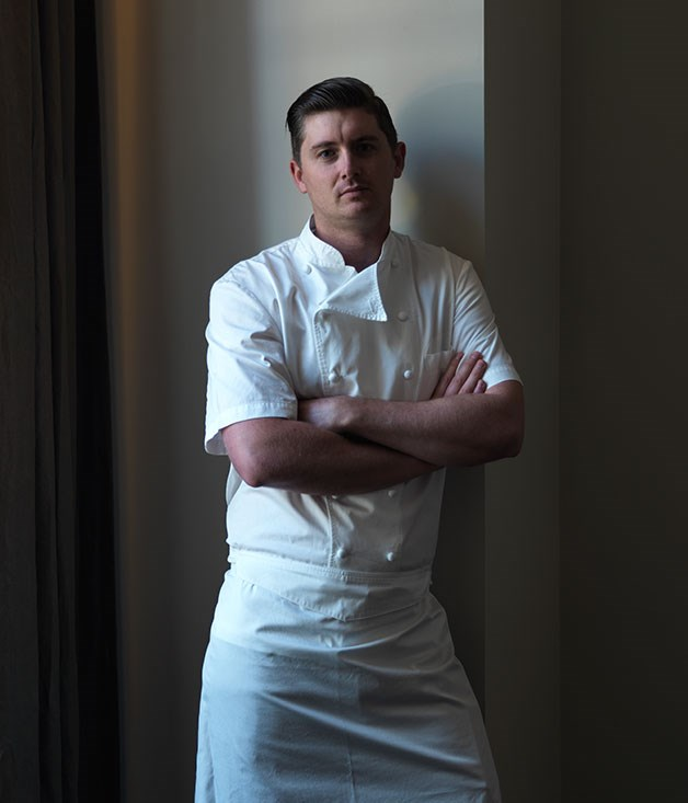 **** Wildflower executive chef Jed Gerrard.