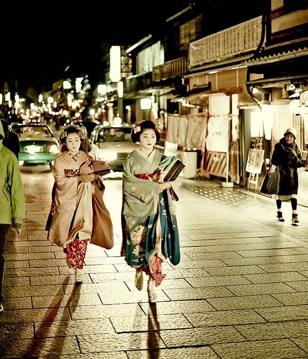 **** Maiko in Gion.