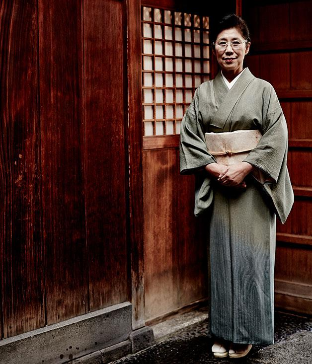 **** Akemi Nishimura, proprietor of Hiiragiya ryokan.