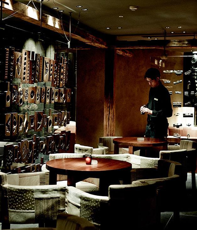 **** Yoramu sake bar.