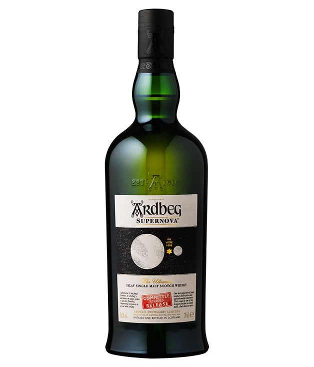 """**Ardbeg Supernova Single Malt Whisky, Islay** Named in honour of the distillery's scheme to send whisky into orbit, this is Ardbeg with the volume knobs turned to 11. One for lovers of extremely peaty Islay malt (guilty, Your Honour), it saturates your senses with smoky seaweed. _$245, [moet-hennessy-collection.com.au](http://www.moet-hennessy-collection.com.au """"Moet Hennessy"""")_"""